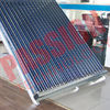 200L Capacity Vacuum Tube Solar Water Heater Portable Galvanized Steel Frame