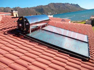 High Performance Swimming Pool Blue Coating All Copper Flat Plate Solar Collector