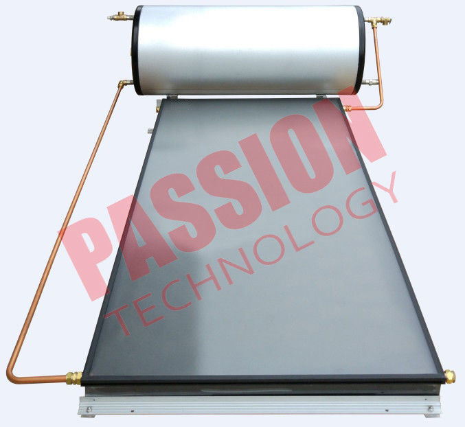 Flat Plate Solar Water Heater for Washing