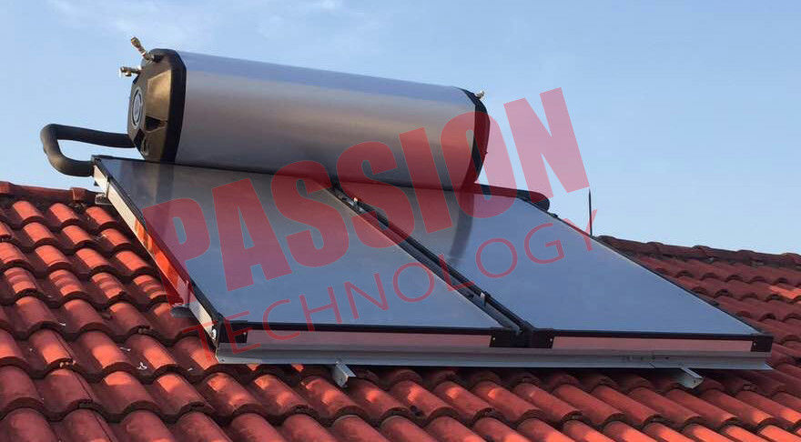 Split Pressurized Solar Water Heater 300 Liter , Electric Solar Water Heater