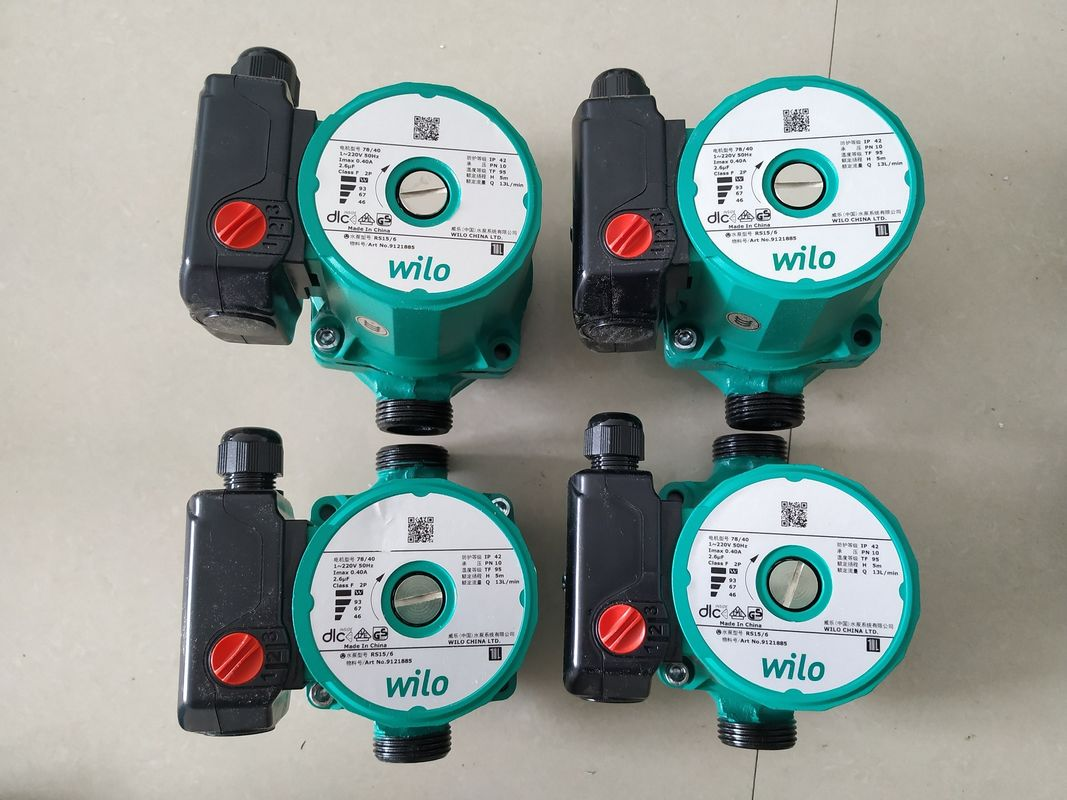 WILO Booster Pump Circulating Pump Pressure Pump For Solar Water Heater